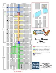 chicago thanksgiving parade closures mcdonald s