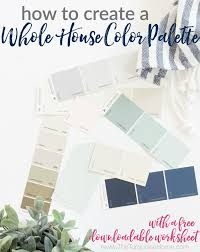 whole house color palette how to create a whole house color palette without feeling overwhelmed