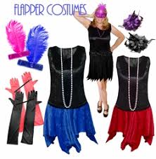 Size Flapper Halloween Costumes Size Costumes