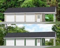 garage carport plans 40x24 3 car garages with carports pdf floor plans 960 sq ft