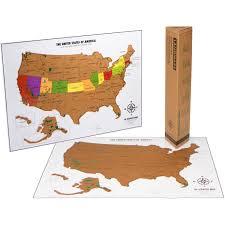 Usa Travel Map by Travel Tracker Map Usa National Parks Landmass Goods