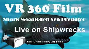 film kartun ikan hiu virtual reality 360 media promo dns studio animasi indonesia