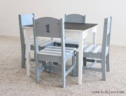12 fun diy kids table makeovers numbers chair makeover and kid