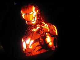 house design magnificent iron man free halloween pumpkin carving