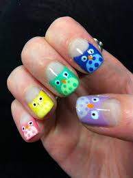 owl nail art simple owl nail designs 31 day nail challenge week