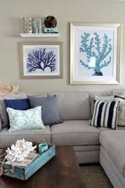 Coastal Cottage Living Rooms by Coastal Cottage Family Room Before U0026 After Wall Decor Most