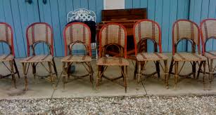 Vintage Bistro Chairs Rattan Bistro Chairs