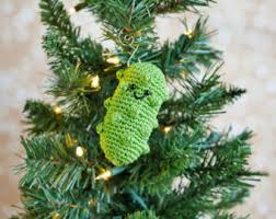 pickle crochet etsy