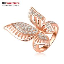 butterfly rings gold images Rose gold butterfly ring urban fashion deals jpeg