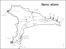 Pune India Map by Sinhagad Fort Pune Maptocity