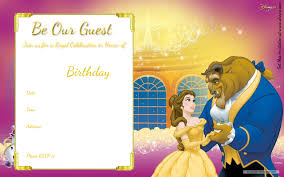 free invitation printable templates free printable beauty and the beast royal invitation template