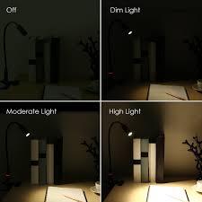 amazon com aglaia desk lamp clip on 4w eye care led reading