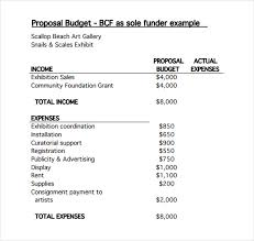 simple proposal template example printable sample construction