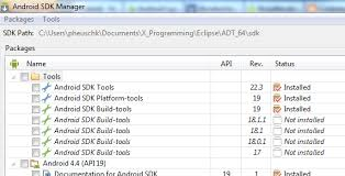 android build tools instances of android sdk build tools bug or feature