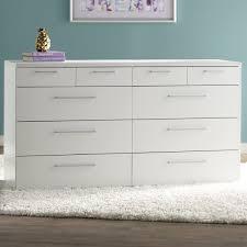 10 Drawer Cabinet Zipcode Design Shelby 10 Drawer Double Dresser U0026 Reviews Wayfair