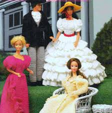 Vintage Crochet Pattern Pdf Fashion by Vintage Crochet Pattern Pdf Fashion Doll Clothes Wedding Dress