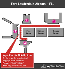 Fort Lauderdale Map Miami U0026 Fort Lauderdale Airport Shuttle To The Keys One Way