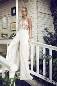 wedding dress jumpsuit 14 stunning bridal jumpsuits to replace wedding dresses