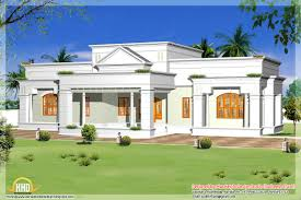 white color of exterior wall paint decration in single storey home
