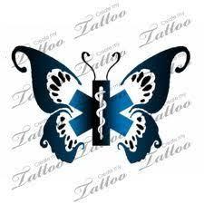 Ideas For Ems Emt Tattoos Butterfly Emt Ideas Tats