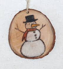 17 best images about wood slices on reindeer snowman