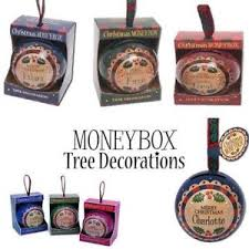 h h money box baubles personalised names