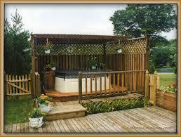 above ground lap pool decofurnish back yard deck with hot tub dr of nurse 3 jpg deck back yard