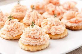 canapés saumon fumé recette mousse de saumon