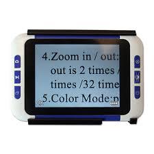 eyoyo 5 0 inch handheld portable video digital magnifier