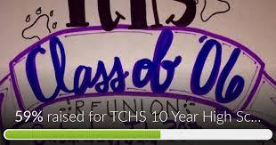 high school reunion banner fundraiser by sweeney salemi tchs 10 year high school reunion