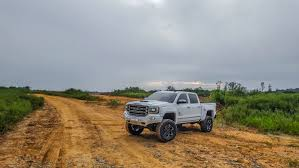 lifted gmc 2017 gmc black widow lifted trucks u2014 sca performance lifted trucks