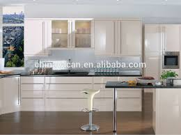 High Gloss Lacquer Finish Kitchen CabinetBeige Lacquer Kitchen - High gloss lacquer kitchen cabinets