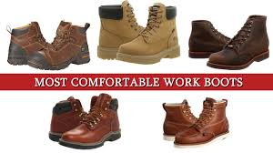 What Are The Most Comfortable Shoes Top 5 Of The Most Comfortable Work Boots Youtube