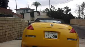 nissan 350z yellow for sale my ultra yellow 350z roadster nismo exhaust hfc youtube