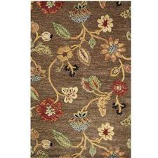 Leaf Area Rug Round Area Rugs Rugs The Home Depot