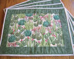 quilted placemats etsy