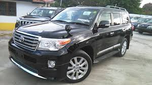 toyota land cruiser zx 2013 black at almost new now available at