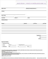 free sales receipt form samples csat co