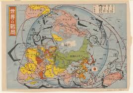 Map Of Europe 1942 by 1942 Japanese Map Of The World On A Polar Projection 5000 3520