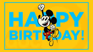 mickey mouse birthday disney parks announce special mickey mouse birthday celebrations