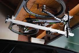 ceiling bike lift for garages hallways basements flat bike lift