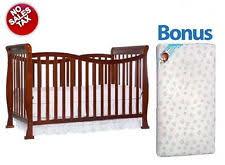 Mattress For Convertible Crib Convertible Crib With Bonus Mattress Black Baby Nursery Furniture