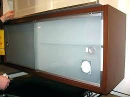 sliding glass cabinet door track make sliding cabinet doors sliding cabinet door sliding kitchen