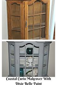 Curio Cabinet Makeover by 84 Best Dixie Belle Manatee Gray Painted Furniture Furniture