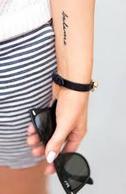 16 word tattoos on forearm