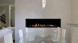 Saratoga Fireplace Montigo Distinction D6315 Fireplace With Speckled Stones