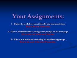 friendly letters vs business letters ppt video online download
