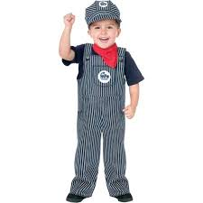 Childrens Halloween Costumes Train Engineer Toddler Halloween Costume Walmart