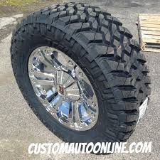 jeep wheels and tires chrome custom automotive packages off road packages 20x9 kmc xd