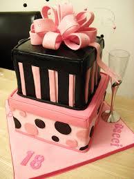 Cake Walk 18th Gift Box Birthday Cake For Two